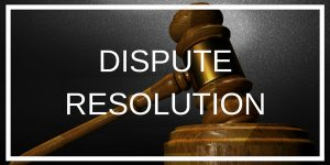 Dispute Resolution - due diligence, litigation and demand letters