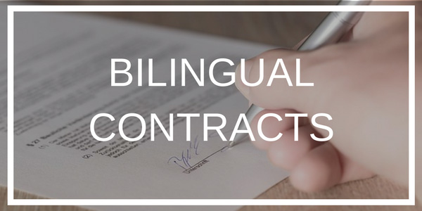 Bilingual Contracts