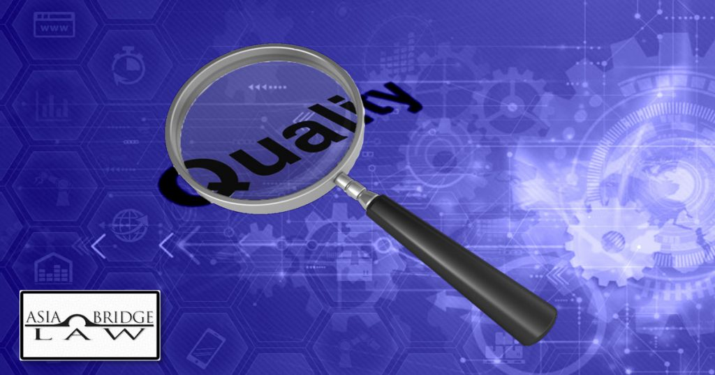 Managing Quality when sourcing from China