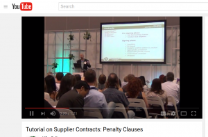 Tutorial on Supplier Contracts: Penalty Clauses Sourcing from China