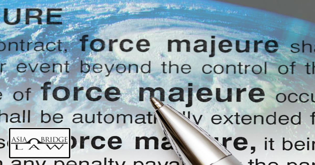 Force Majeure - Business Advisory Services |