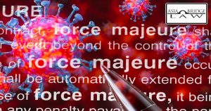 Force Majeure clause during the Covid-19 pandemic