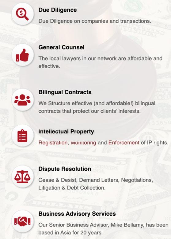 Practice Areas - AsiaBridge Law