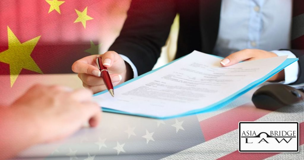 Hallmarks to Secure a Good Bilingual Contract in China